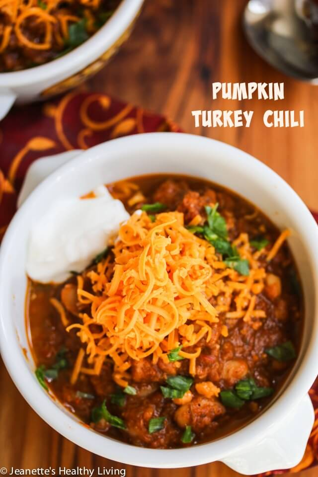 This Pumpkin Turkey Chili is packed with goodness
