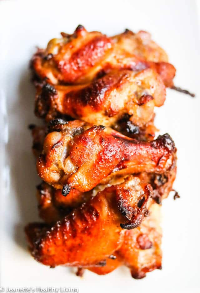 Spicy + Sweet Baked Chicken Wings-3