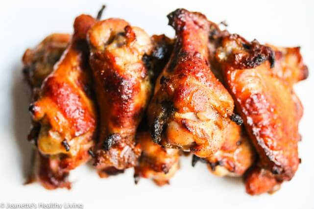 Spicy + Finger Licking Good Sweet Baked Chicken Wings