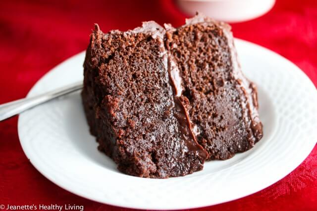 Decadent Gluten-Free Chocolate Cake - so chocolatey and rich, no one will guess it's gluten-free...perfect for the holiday dessert table.