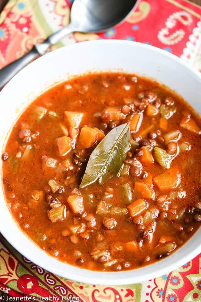 Slow Cooker Greek Lentil Soup Fakies Recipe