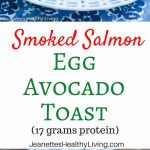 Smoked Salmon Egg Avocado Toast