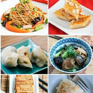 10 Symbolic Chinese New Year Recipes - Celebrate Chinese New Year with these symbolic foods for a prosperity, longevity, unity, fertility, luck, happiness, and good fortune
