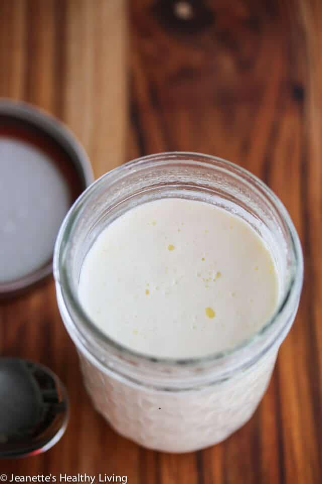 SCD GAPS Diet Sour Cream Creme Fraiche - use as a base for a rich ice cream that's virtually lactose free