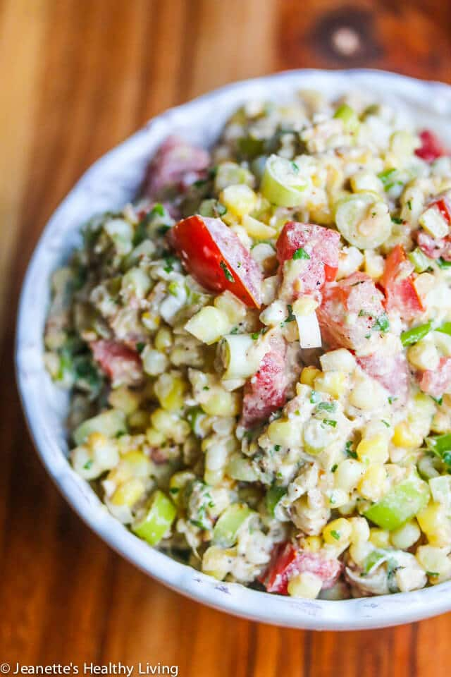 Mexican Corn Quinoa Salad Recipe Jeanette S Healthy Living
