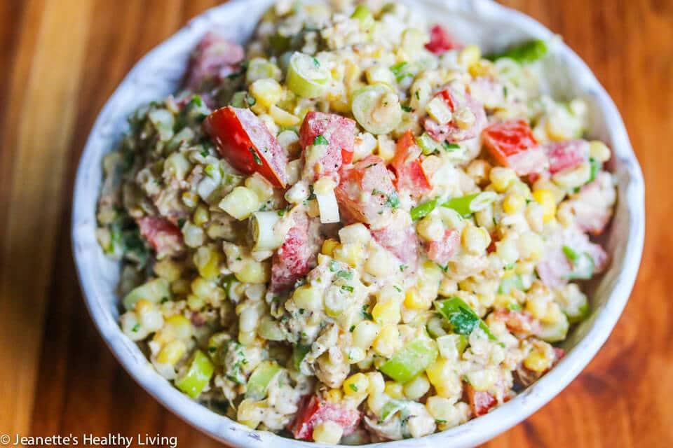 Corn Salad Recipe Feta