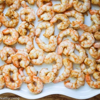 Roasted Old Bay Shrimp - these are so delicious and easy to make - perfect for a quick appetizer