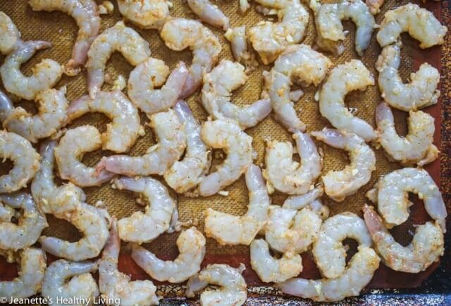 Roasted Old Bay Shrimp - these are so delicious and easy to make - perfect for a quick party appetizer with a kick