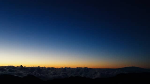 Hawaiian Sunrise Haleakala Crater
