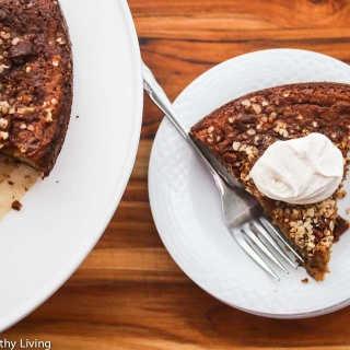 Gluten-Free Apple Streusel Cake With Yogurt Cream Recipe