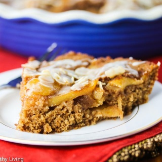 Apple Buttermilk Spelt Coffee Cake Recipe