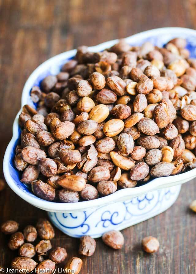 Mom's Extra Crunchy Five Spice Roasted Peanuts - scented with Chinese five spice powder, these are a specialty of my mom's, passed down to me.