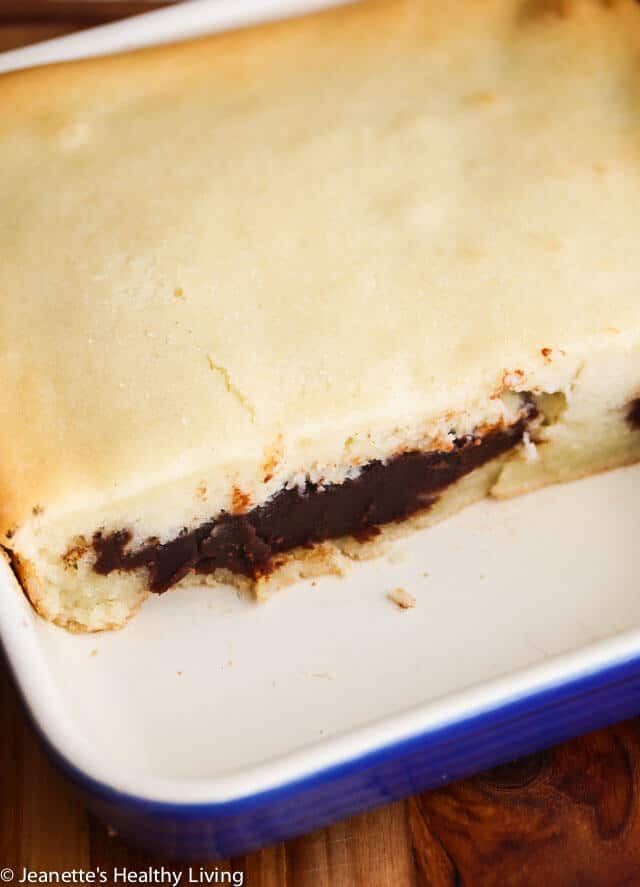 Chinese Baked Coconut Sticky Rice Red Bean Paste Cake - this special recipe was handed down to me by my mom. Celebrate Chinese New Year with this sticky rice cake that includes a sweet red bean paste filling