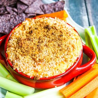 Skinny Buffalo Chicken Wing Dip Recipe
