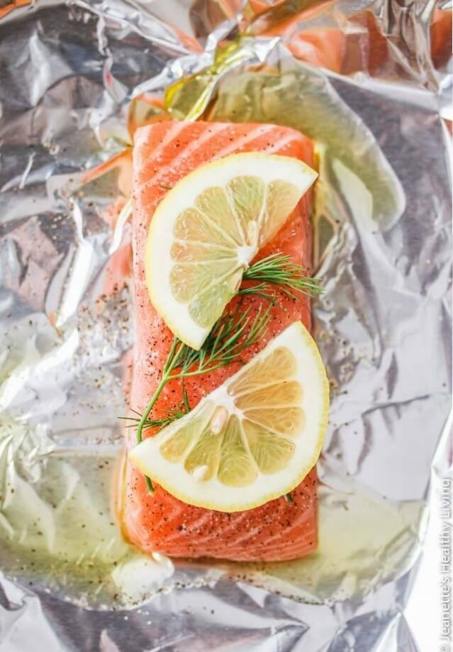 Slow Roasted Salmon - this is the easiest and best way to cook salmon - it is so moist and delicious!