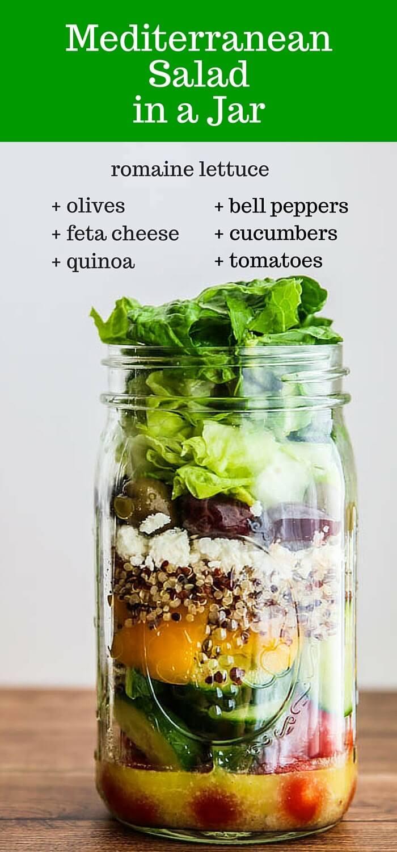 Mediterranean Salad In A Jar Recipe Jeanette S Healthy Living