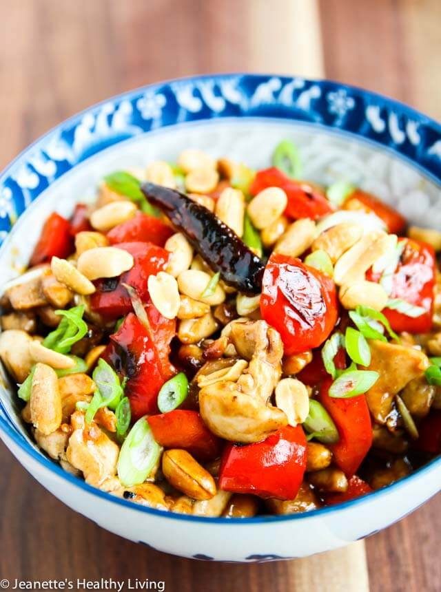 Kung Pao Chicken with Peanuts - I've been making this for 20 years and it's still my husband's favorite dish!