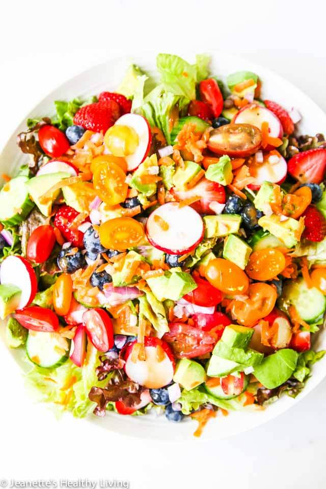 Ultimate Summer Salad - learn how to create the ultimate summer salad