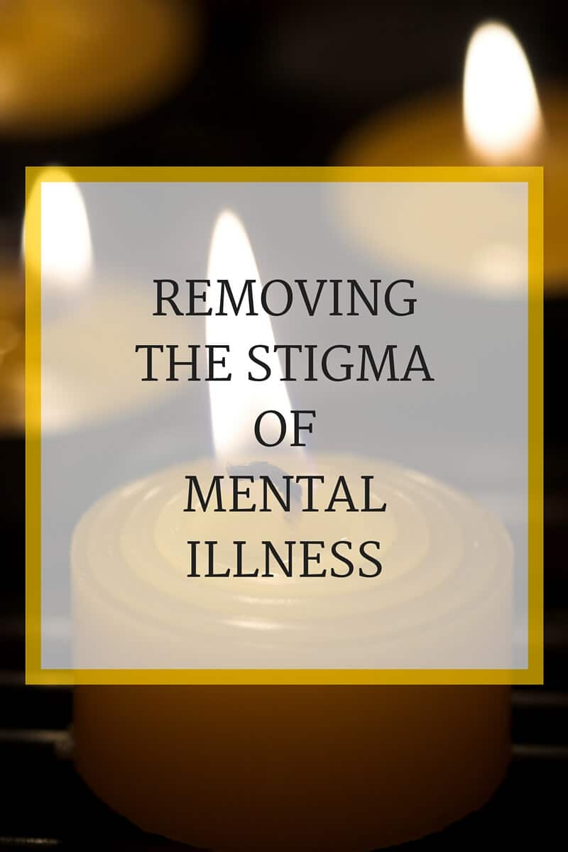 Removing the stigma of mental illness - I just lost a friend who suffered from depression. Mental illness is the second leading cause of death in youths ages 15-24. We need to remove the stigma of mental illness to help save lives.