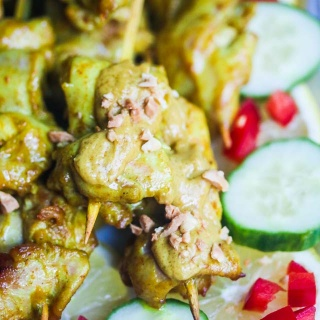 Thai Chicken Satay Recipe