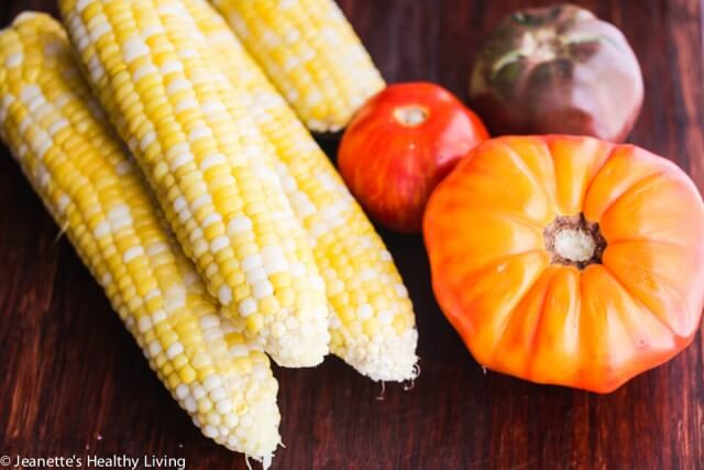 Summer Corn and Heirloom Tomatoes