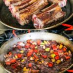 Slow Cooker Red Wine Short Ribs - these are fall-off-the-bone tender