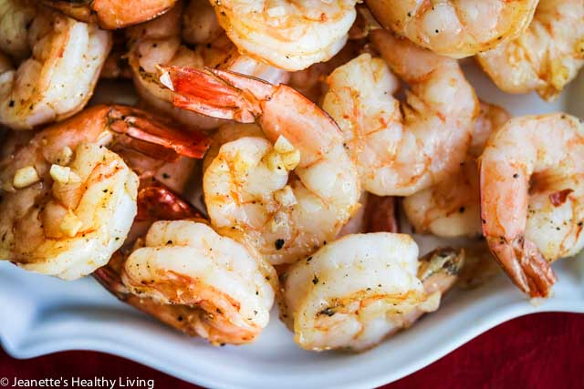 Roasted Shrimp Cocktail -Much more flavorful than regular shrimp cocktail and easy to make in large batches. Garlic and smoked paprika make these extra special
