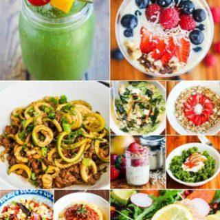 4 Week Healthy Eating Meal Plan