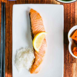 Japanese Breakfast Salmon Recipe