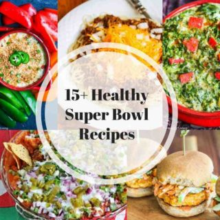 Healthy Super Bowl Menu