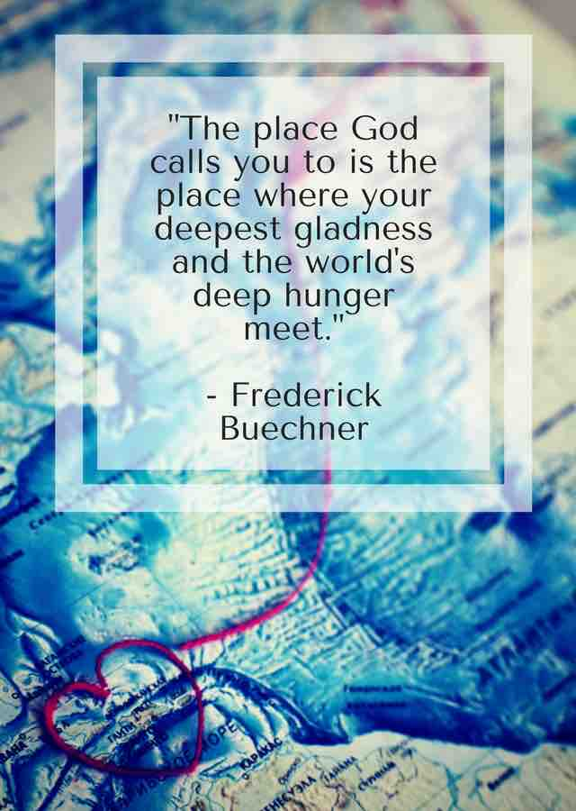 The Place God Calls You To - Frederick Buechner