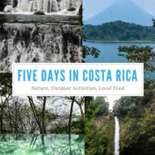 Five Days In Costa Rica