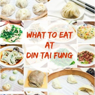 Din Tai Fung Taipei - famous for its soup dumplings, this restaurant is a must visit in Taipei. So many different dumplings and dishes to choose from.