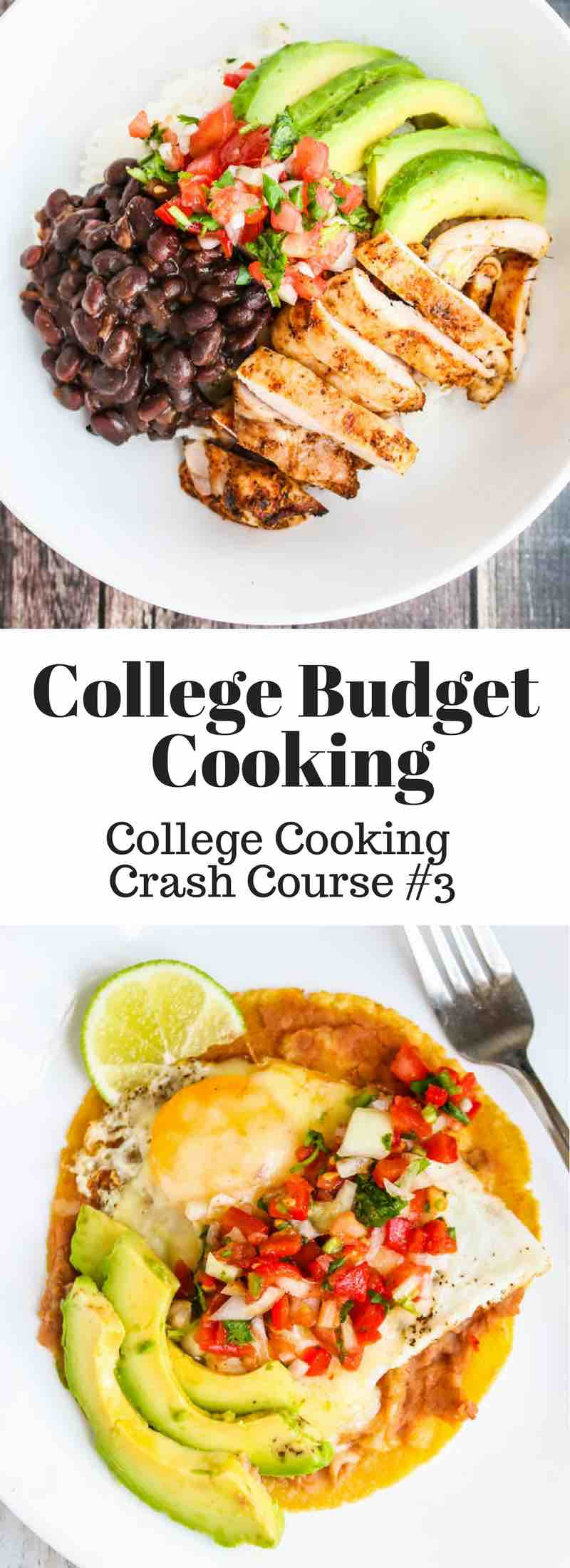 Low Budget Cooking - college student cooking on $6/day