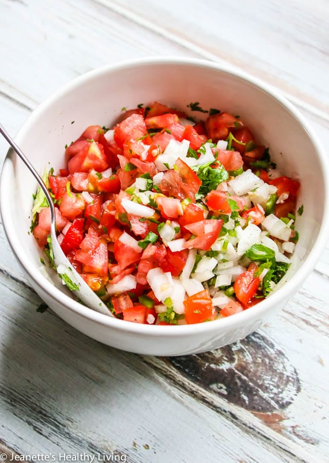 Pico de Gallo - simple, fresh salsa