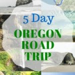 5 Day Oregon Road Trip - itinerary to see waterfalls, Crater Lake, redwood forest and beautiful coastal views