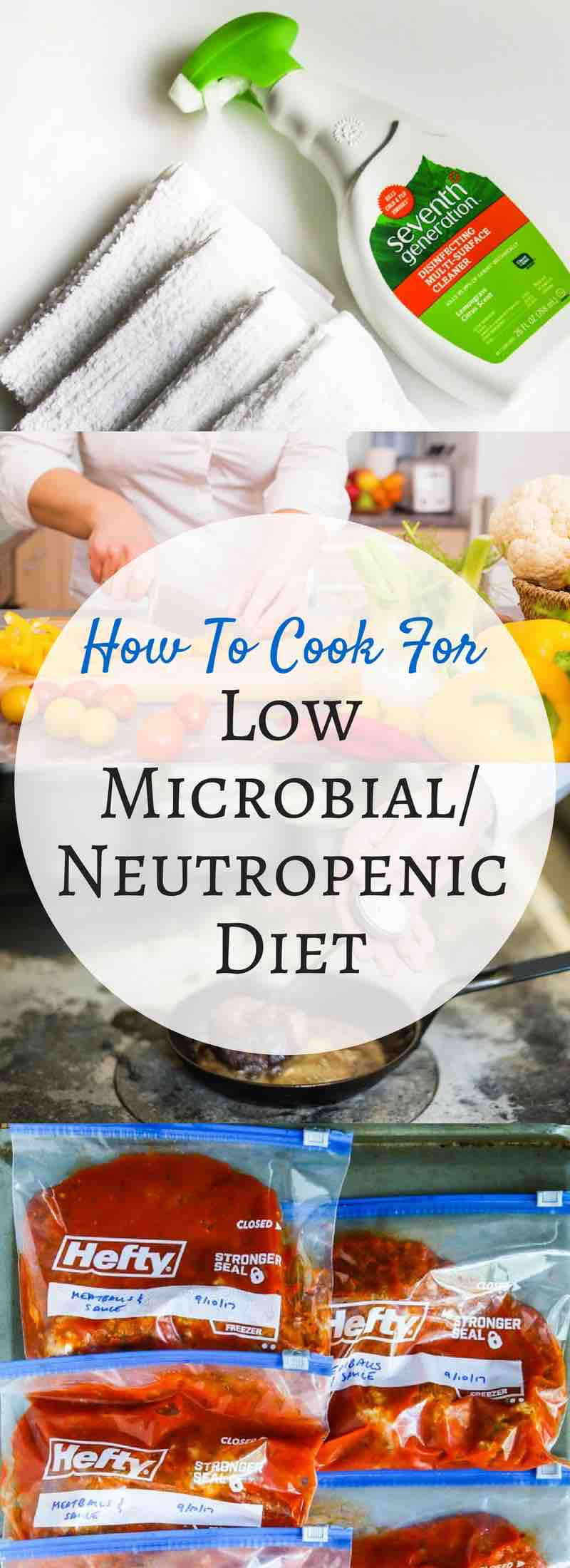 How To Cook for Microbial Neutropenic Diet - some cancer patients are on this special diet. Learn how to cook safely for these patients.