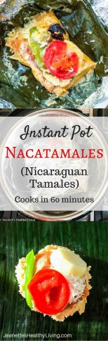 Instant Pot Nacatamales - this Nicaraguan special occasion food is similar to a tamale, but with more variety in the fillings