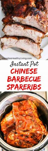 Instant Pot Chinese Barbecue Spareribs - these popular spareribs take 20 minutes to cook; broil 3 minutes to finish