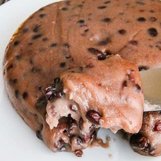 Red Bean Sticky Rice Cake - celebrate Chinese New Year with this traditional steamed mochi-like cake. Make in Instant Pot or steam.