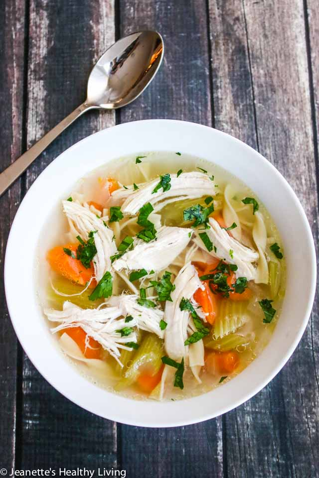Instant Pot Homemade Chicken Soup Jeanette S Healthy Living