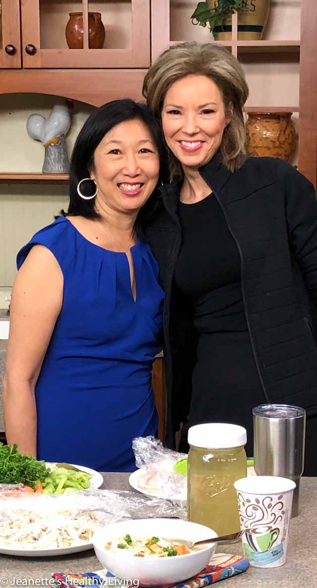 Jeanette Chen's Instant Pot Chicken Soup CT News 12