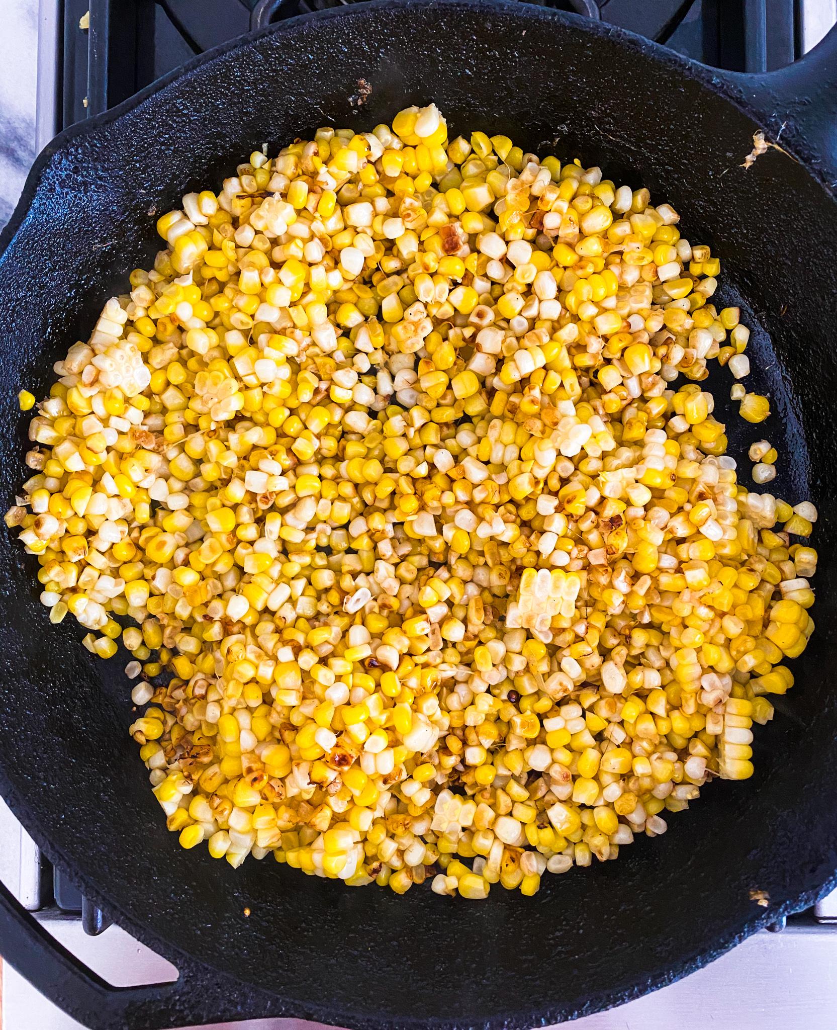 Pan Roasted Corn
