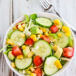 Dominican Republic Green Salad Recipe