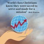 Becoming a World Class Christian