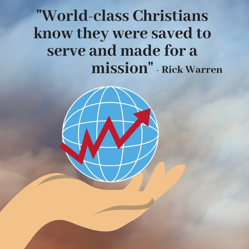 Becoming A World Class Christian - learn how to become a world class Christian and change your and other people's lives