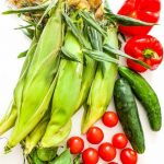 Farmer's Market Corn Salad - easy salad featuring summer produce at their peak