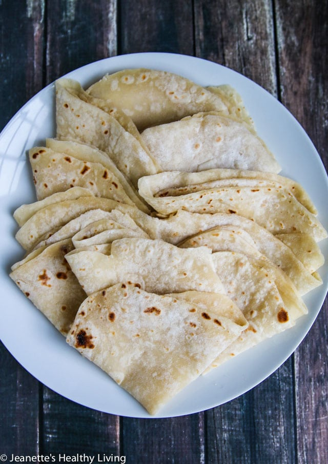 Mandarin Pancakes - these are similar to flour tortillas but much thinner - serve with Moo Shu Shrimp