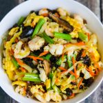 Moo Shu Shrimp - healthy and delicious meal
