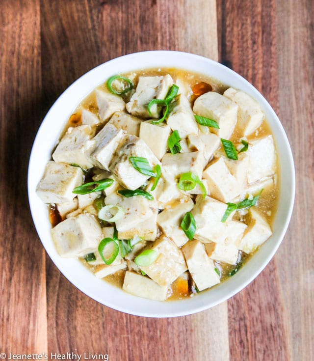 Oyster Sauce Tofu - simple, humble dish that is healthy and delicious meatless meal